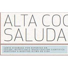 Nuevos menús de Alta Gastronomía Saludable