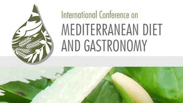 Conferencia Internacional sobre Dieta mediterránea, gastronomía y salud