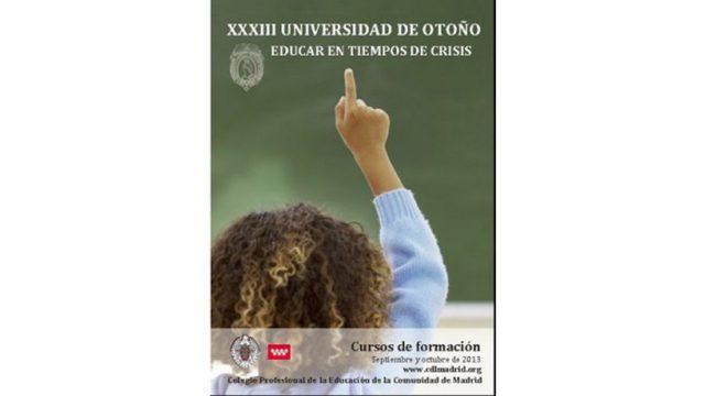 XXXVIII Universidad de Otoño