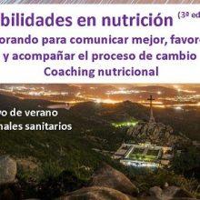 Celebrado el Curso de verano: Aprendiendo a comunicar en nutrición. Habilidades para promover y acompañar el proceso de cambio – coaching nutricional (3ª Edición)