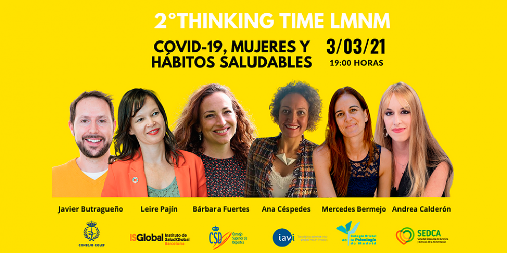 2ºThinking Time LMNM COVID-19, mujeres y hábitos saludables