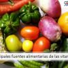 Protegido: Principales fuentes alimentarias de vitaminas