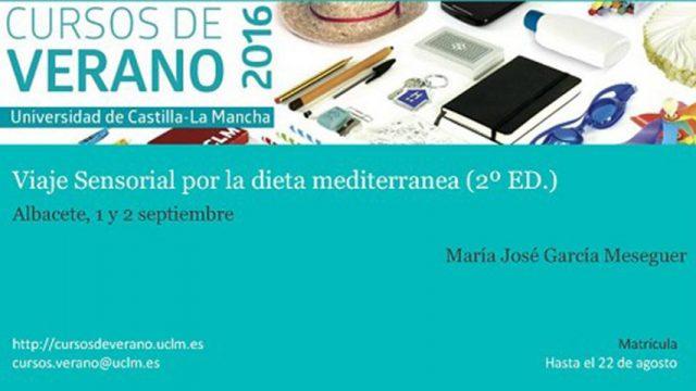"""Celebrada la II Edición del Curso de Verano """"Viaje sensorial por la dieta mediterránea"""""""