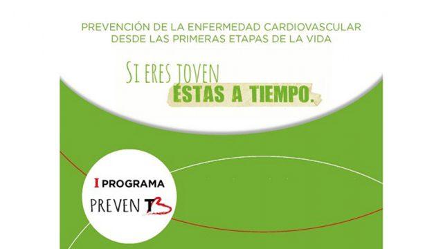 El Programa PrevenT de salud para los jóvenes se presenta el 13 de Diciembre en Salamanca