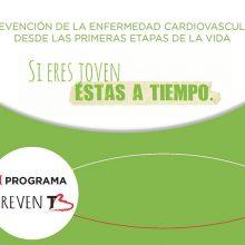 La campaña de promoción de la salud cardiovascular entre jóvenes, PrevenT, continúa este mes en Madrid