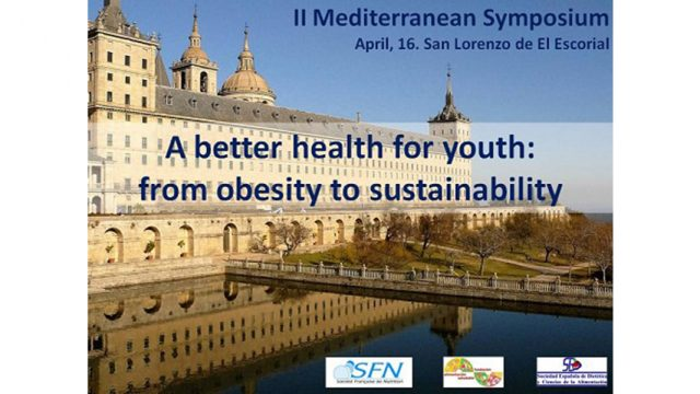 """Celebrado en el Escorial el II Simposio Mediterráneo """"Una mejor salud para los jóvenes: de la obesidad a la sostenibilidad"""""""
