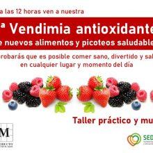 La primera vendimia antioxidante.