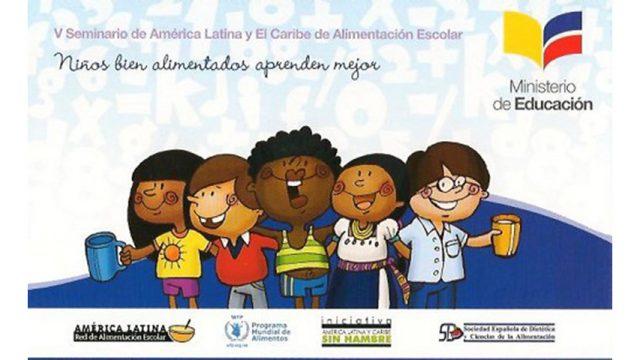 La SEDCA en el V Seminario Latinoamericano de Alimentación Escolar
