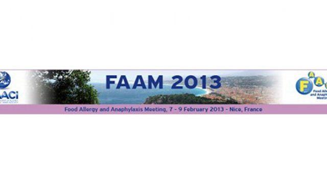 Encuentro 'Alergia alimentaria y anafilaxia' FAAM 2013